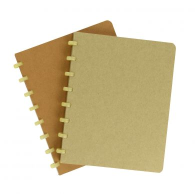A5 Bio Notebook with White Lined Pages