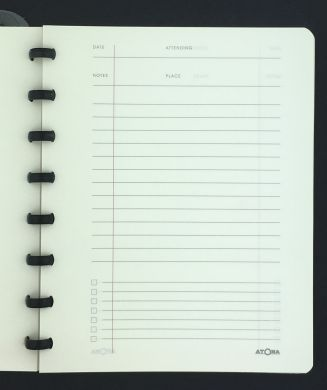 Traditional Style notebooks with matching discs and white 90gsm paper