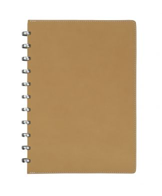 A4 Pur Natural Leather with Cream Lined Pages