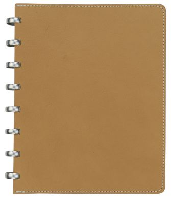 A5 Pur Natural Leather with Cream Lined Pages