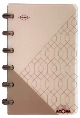 "6 Disc So Chic ""Geometry"" Pocket Notebook with White Squared Pages"